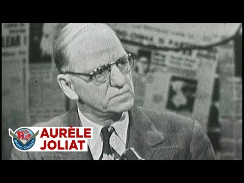 Aurèle Joliat and the early days of hockey, 1963