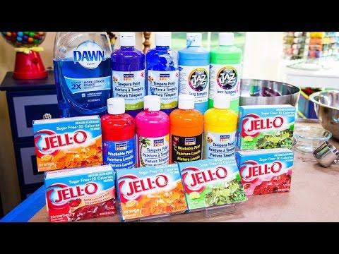 Tanya Memme's DIY Rainbow Foam