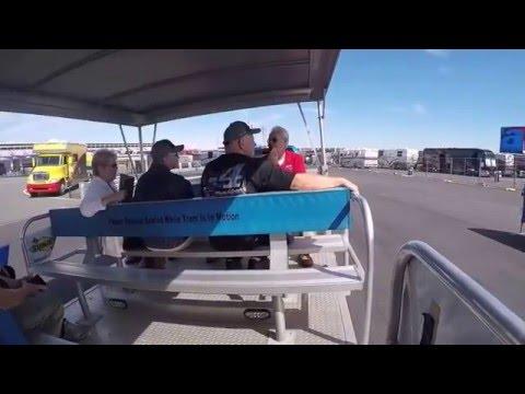 Charlotte Motor Speedway Track Tram Tour