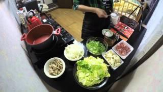 Stir Fried Pork, Napa Cabbage and Shiitake Mushrooms - Japanese Food Recipes for Dinner