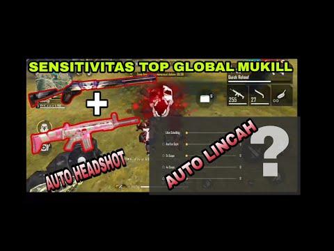 SENSITIVITAS TOP GLOBAL MUKILL NGAMUK AUTO HEADSHOT AUTO LINCAH - GARENA FREE FIRE - 동영상