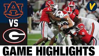#7 Auburn Vs #4 Georgia Highlights | Week 5 College Football Highlights | 2020 College Football