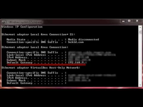 Router Ip Address >> How to Find the IP Address of Your Router - YouTube