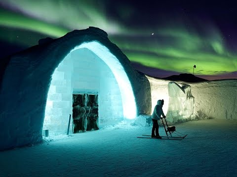 Ice Hotel in Sweden - the Original - YouTube