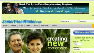 Online Dating & Relationship Advice : About Senior Dating Sites