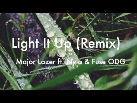 Light It Up (Remix) - Major lazer ft. Nyla & Fuse ODG (Audio)