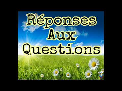 Abdoulaye Koita Réponses Aux Questions 29eme