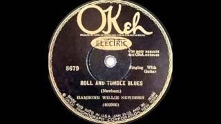 Hambone Willie Newbern  Roll And Tumble Blues  OKEH 8679