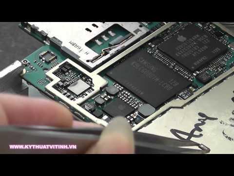 Kythuatvitinh.vn: Kinh nghiệm tháo IC nguồn Iphone 3GS
