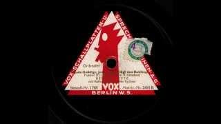 Jede Gnädige, jede Ledige trägt den Bubikopf / Bernard Etté & Orchester, Gesang: Max Kuttner
