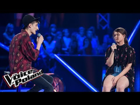 "Dawid Dubajka I Milena Mocek - ""Skinny Love"" - Bitwy - The Voice Of Poland 9"