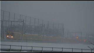 【大雪】大雪のなかを走る西武池袋線