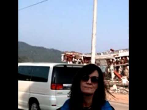 Sharon Davis interview with Lindy Peters: Trip to Otsuchi, Japan