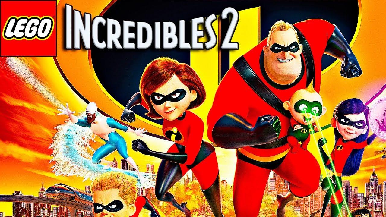 Lego Los Increibles 2 Pelicula Completa Español Hd 1080p Los Increíbles 2 De Disney Pixar 2018 Youtube