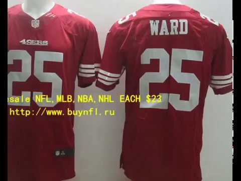 43d1931b5 San Francisco 49ers 25 Ward Cheap NFL Jerseys China From buynfl.ru Only  23  Wholesale Price