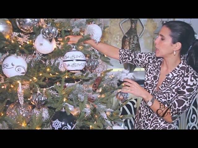 Como Decorar Un Árbol de Navidad