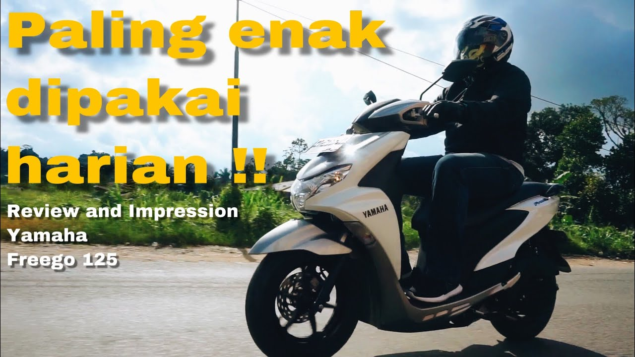 Review dan impresi berkendara Yamaha Freego