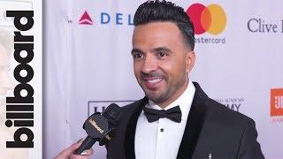 Luis Fonsi Talks Working With Justin Bieber, Demi Lovato at Clive Davis' Pre-Grammy Gala | Billboard
