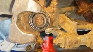 Rear Brake piston compression 2003 Mazda Protege and some Miata