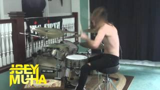 Oggy And The Cockroaches Drumming - JOEY MUHA