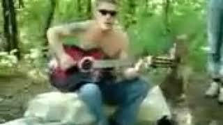 Под гитару стена