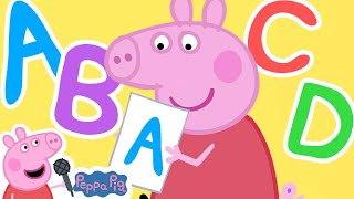 ABC Song - the Alphabet Song for Kids | Peppa Pig Songs | Nursery Rhymes + Kids Songs