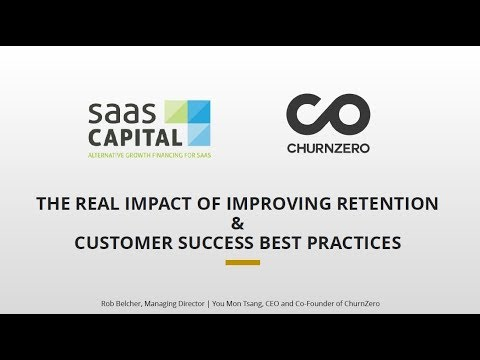 Understanding The Real Impact Of Improving Retention And Customer Success Best Practices