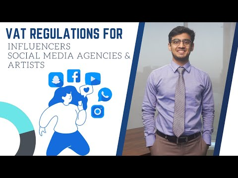 VAT Law - Influencers, Social Media Agencies & Artists | UAE | Tax Invoice | Reimbursement | FTA