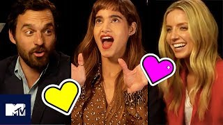 Sofia Boutella, Jake Johnson And Annabelle Wallis Go Speed Dating | MTV Movies