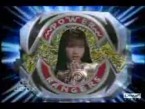 mighty morphin power rangers morph without music