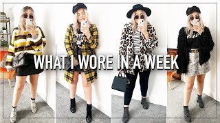 What I Wore In A Week (Autumn Fall Outfit Ideas & Style) - Lily Melrose