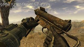 Fallout New Vegas All Weapons In Slow Motion [1080P HD, 60FPS, MAX DETAILS, PC]