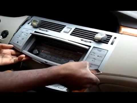 DIY, How To Install An Aftermarket Bluefusion Bluetooth On A Toyota Avalon 2007