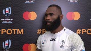 Radradra wins Mastercard Player of the Match for Fiji v Wales