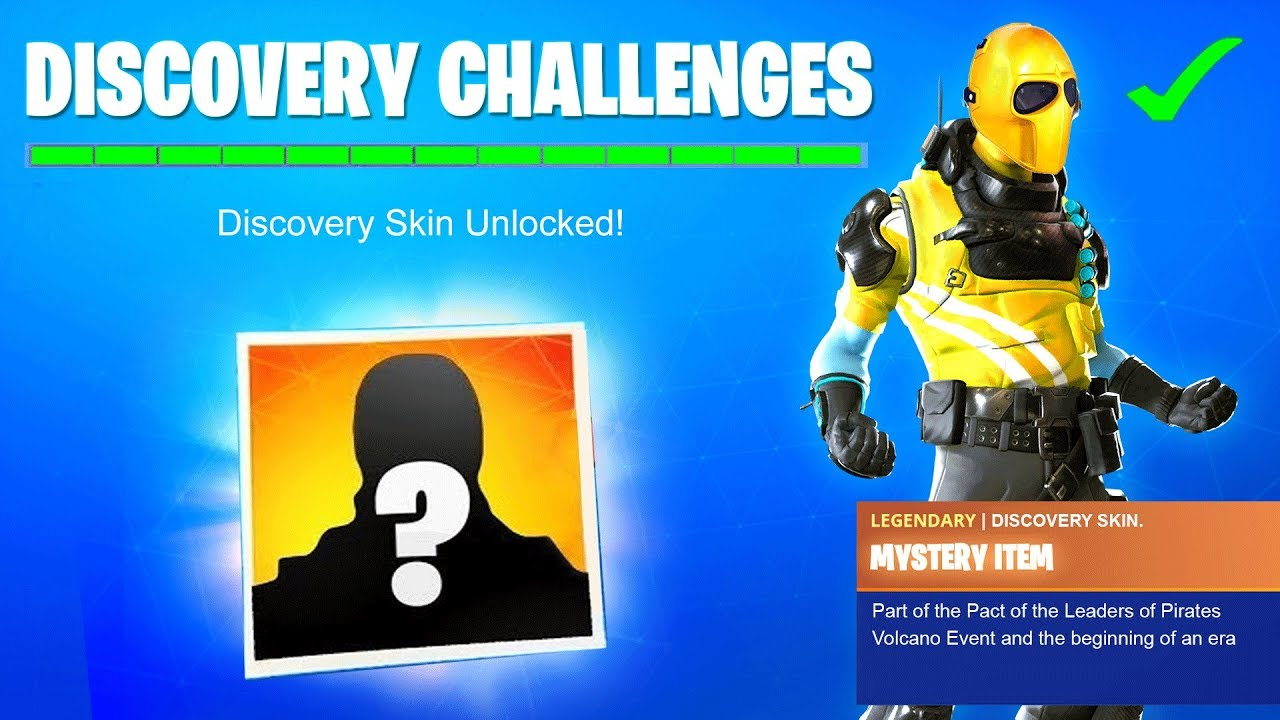 What Is The Mystery Item In Fortnite Season 8 Fortnite