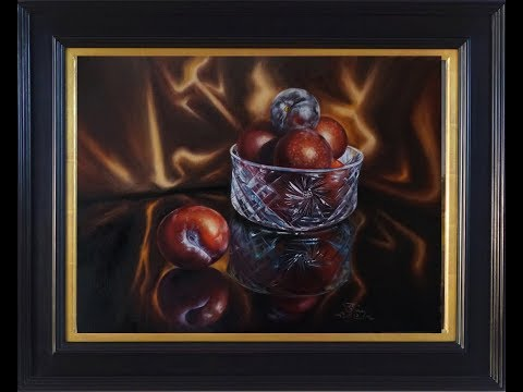 "How to paint realism stilllife""The Group of Seven"", by Lana Kany, full version, speedX3"