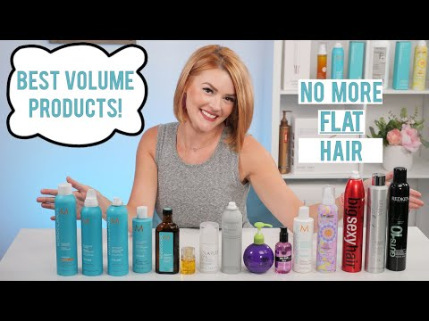 BEST VOLUME PRODUCTS FOR FINE THIN HAIR | STYLING TIPS |