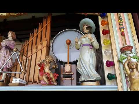 69 Keyless Dean Concert Organ Charlotte Rose Plays Merry-Go-Round Music