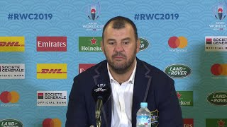 Cheika and Pocock speak after Australia book place in quarter-final