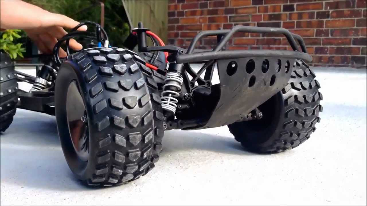 Traxxas Slash 4x4 Monstertruck Conversion HD - YouTube