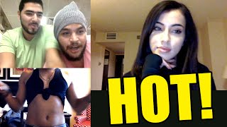 SEXY ARAB ON CHATROULETTE PRANK