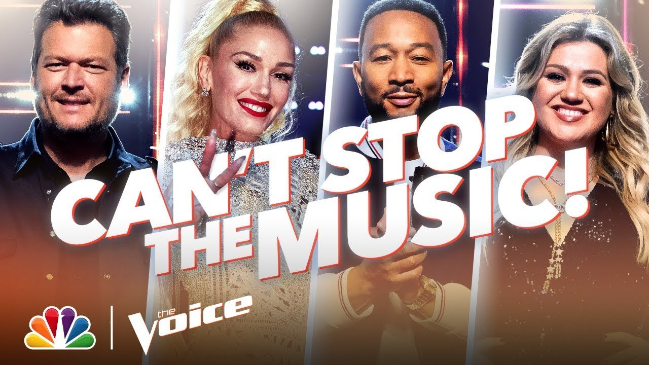 No Matter What, The Music Never Stops! - The Voice 2020
