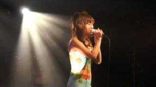 10/08/15に心斎橋ClubQyattroで松田陽子が歌ったワンプラネット.