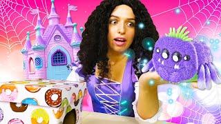 Онлайн видео – Смешные Паучки и Принцессы Диснея! – Лучшие игры для девочек одевалки.