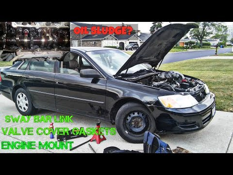 2000 TOYOTA AVALON V6 LOTS OF OIL SLUDGE...