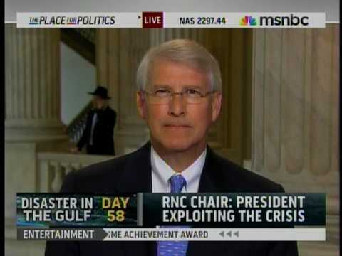 Senator Roger Wicker Discusses Presidential Address on Oil Spill on MSNBC