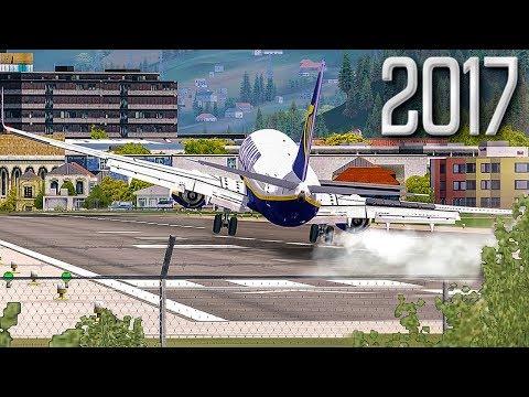 Worlds Hardest Approach   New Flight Simulator 2017 [P3D 4.1 - Amazing Realism]