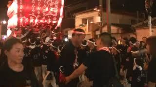 【上田町】平成30年10月7日 三日市町駅前パレード 退場