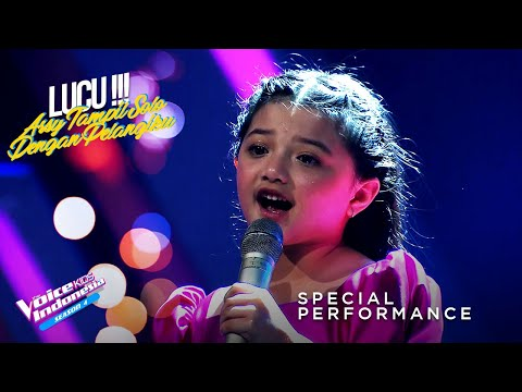 Arsy - Pelangiku | Grand Final | The Voice Kids Indonesia Se