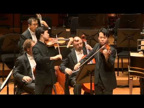 Timothy Chooi and Nikki Chooi| Concerto for Two Violins Bach| Malaysian Philharmonic Orchestra